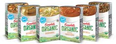 {Campbell's NEW Gluten Free Soup} Campbell's Launches Organic Soup Line with 5 GLUTEN FREE soups!! #celiac #glutenfree