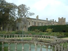 Sudeley Castle in England...haunted by the ghost of Queen Catherine Parr, 6th wife of King Henry VIII