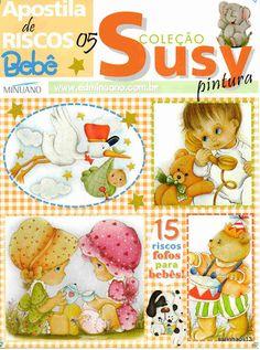 Coleção Susy Pintura Apostila de Riscos Bebê nº05 - Aparecida Zaramelo - Picasa Web Albums