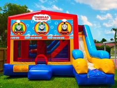 Thomas The Train Bounce House   Bounce House Rentals in Miami   Mom's Party Rental