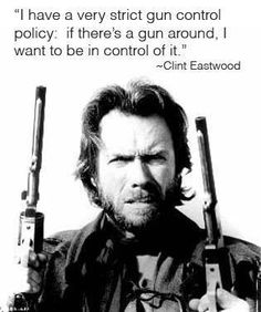 dirty harry on gun control.