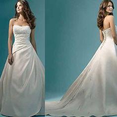 vestido de noiva longo classico cor pérola