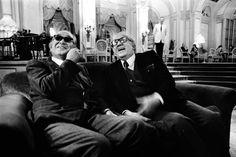 Akira Kurosawa and Federico Fellini