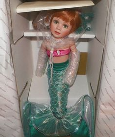 Artist Edition Doll Brianna Shelley Daniels Lekven Georgetown Collection Mermaid #ShelleyDanielsLekven #Dolls