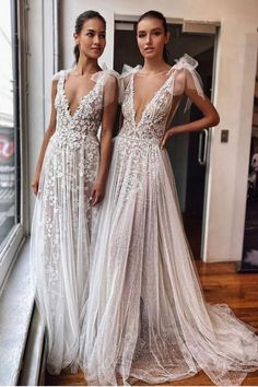 #MUSE beauties from #BERTA NYC Berta Bridal, Bridal Gowns, Muse By Berta, Evening Dresses, Formal Dresses, Bridesmaid Dresses, Wedding Dresses, Bridal Style, Nyc