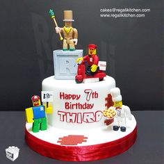 Roblox Cake | Gaming Cake | Cakes by The Regali Kitchen