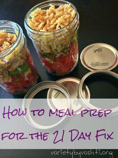 Friday Fix 2 - How the BLEEP do I Meal Prep - Variety by Vashti