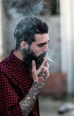 "beardsplustattoos: "" Holdin' on Model: Edwar Tiger Photo: David Alvarez """
