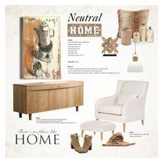 Neutral Home by cruzeirodotejo on Polyvore featuring interior, interiors, interior design, home, home decor, interior decorating, Crystal Art, Arteriors, Astier de Villatte and Ivanka Trump