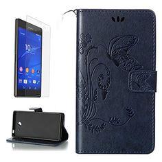 Yrisen 2in 1 Sony Xperia M2 Tasche Hülle Wallet Case Schu…