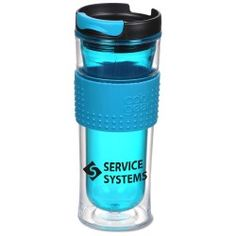 Give associates and clients alike a colorful experience with this printed tumbler!