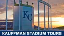 STADIUM TOURS at the Royals Kauffman Stadium