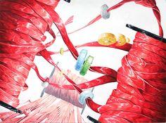 기초디자인 구성 - Google 검색 Ap Drawing, Otto Schmidt, Mark Ryden, Soul Art, Art Academy, Sketch Painting, Pattern Illustration, Painting Patterns, Pictures To Draw