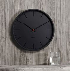 The Tone35 Wall Clock by Leff Amsterdam is Made for Modern Spaces #clocks trendhunter.com