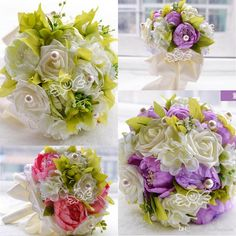 Wf071 Rustic Bridal Wedding Bouquet Wedding Decoration Artificial Bridesmaid Flower Silk Bridal Flower Three Color Cheap For Garden Wedding Cheap Wedding Flowers Online Flower Bouquet Arrangement From Ourfreedom, $21.71| Dhgate.Com