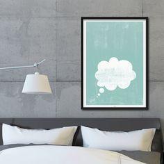 Originaldruck - Kunstdruck Poster / Traum - ein Designerstück von typealive bei DaWanda
