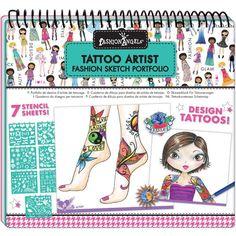 Fashion Angels Tattoo Artist Sketch Portfolio