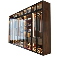 Source Hot Selling American Style Glass Door Modern Design Wardrobe on m alibaba com is part of Wooden wardrobe - Wooden Wardrobe, Wardrobe Design Bedroom, Bedroom Bed Design, Wardrobe Cabinets, Diy Wardrobe, Bedroom Wardrobe, Bedroom Decor, Glass Wardrobe Doors, Portable Wardrobe Closet