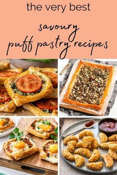 This delicious collection of Savoury Puff Pastry Recipes have one thing in common: they're full of flavour! Whether you're looking for a creative appetiser, easy brunch, lunch or dinner, you'll find some fantastic new ideas in this post!#savourypuffpastryrecipes #savorypuffpastryrecipes #puffpastryrecipes #puffpastry #easypuffpastryrecipes #easyrecipes #puffpastryideas #savourypastry #cravecookconsume #itsnotcomplicatedrecipes Puff Pastry Recipes Savory, Tart Recipes, Quiche Recipes, Savoury Recipes, Mushroom Tart, Aussie Food, Savory Snacks, Yummy Appetizers