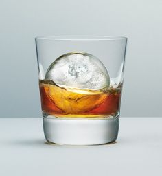 Macallan Ice Ball Serve: Presses a chunk of ice into a sphere to perfectly cool your dram. #Scotch #Macallan #Ice_Ball