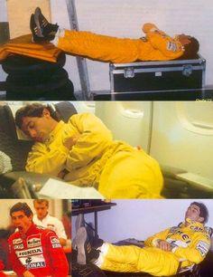 Sono - Ayrton Senna - ZzzZz - (Have a nice evening, good night everyone)