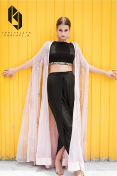 The Winter Festive Look Book 2016 for Indian designer Prathyusha Garimella. The label is being currently retailed at Perniaspopupshop, Aza, Ogaan, Aashni & co and many other multi-brand stores.Model: Zanet Heldes (Fashion World)Production: Allen Joseph& Stylish Dresses, Nice Dresses, Fashion Dresses, Indian Wedding Outfits, Indian Outfits, Indian Clothes, Indian Gowns, Indian Wear, Indian Designer Outfits