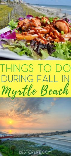 Myrtle Beach is a popular destination year round and there are so many things to do in fall that make it a must visit destination. Myrtle Beach Things to Do | Visit Myrtle Beach | Myrtle Beach Fall Things to Do | Travel Tips  via @AmyBarseghian