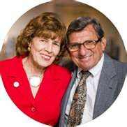 Joe and Sue Paterno.  I hope my life is even half as meaningful as either of theirs. <3