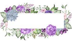 etiquettes,pancartes,tubes,scrap Floral Drawing, Watercolor Drawing, Floral Watercolor, Decoupage Vintage, Flower Wallpaper, Wallpaper Backgrounds, Molduras Vintage, Powerpoint Background Design, Clip Art
