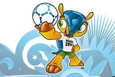 La mascota del mundial Brasil 2014 http://www.mascotadomestica.com/articulos-sobre-mascotas/que-animal-es-la-mascota-del-mundial-brasil-2014.html