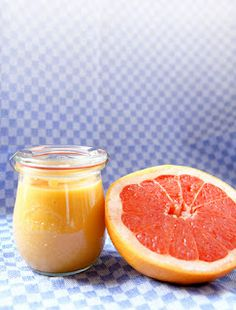 sugary & buttery: Pink Grapefruit Curd