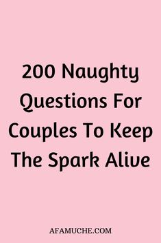 Want to create more intimacy with your spouse or partner? Ask these 265 relationship questions to spark a deep connection between you and your lover.