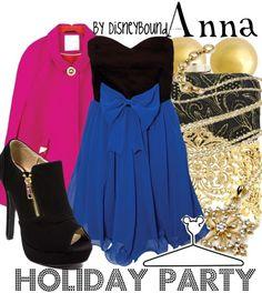 http://disneybound.tumblr.com Disney Fashion Frozen anna