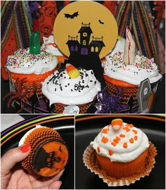 Candy Corn Flavored Cupcakes Recipe - I bet this is good :)