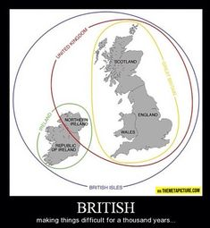 For all my non-UK friends who get confused by this...