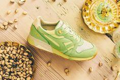"Feature x Diadora N9000 ""Pistacchio"" Inspired by Ice Cream on Hot Summer Days http://SneakersCartel.com #sneakers #shoes #kicks #jordan #lebron #nba #nike #adidas #reebok #airjordan #sneakerhead #fashion #sneakerscartel"