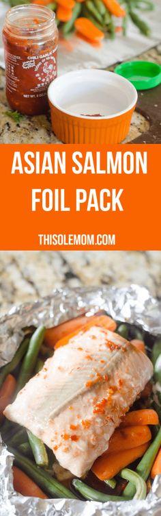 Asian Salmon Foil Pa