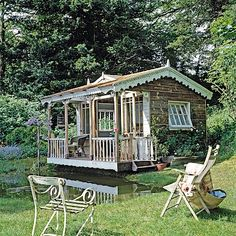 ::Surroundings::: Book Review: Shed Chic and Weekend Retreats