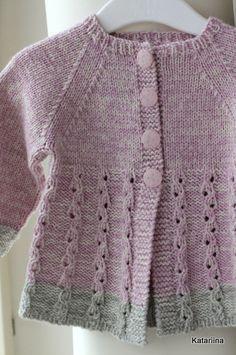 Katariina kudugurmee: Oliviale. knitted jacket baby-girl