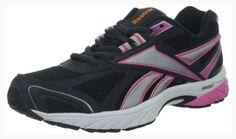 Reebok Women's Pheehan Running Shoe,Gravel/Silver/Optimal Pink/Neon Orange,8.5 M US (*Partner Link)