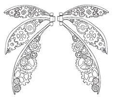 Steampunk Fairy Wings | Steampunk Gothic Bolero Underbust Leather Wedding Bridal…