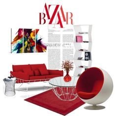 J'adore Rouge on Polyvore