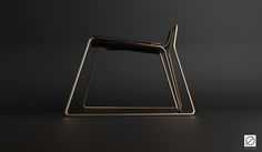 CLIP - The Invisible Chair on Behance