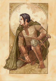 Aragorn ~by Jenny Dolfen Though he looks a little too pretty.