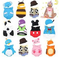 Online Shop Baby Boys Girls Cartoon Animal Costume Attire Romper Cute Infant Bodysuit Outfit 3-12mons|Aliexpress Mobile