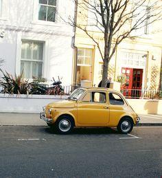 Yellow #Fiat500