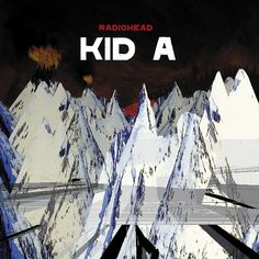 Kid A is the fourth album by rock band Radiohead. Released in the October of this album summarizes the distinct sound that makes up Radiohead. Radiohead Albums, Radiohead Poster, Top 100 Albums, Great Albums, Music Album Covers, Music Albums, Nu Metal, Heavy Metal, World Music