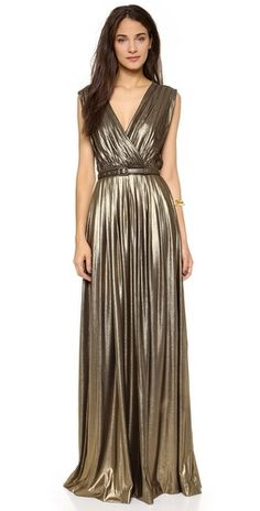 Modern Goddess:  Temperley London Athena Sleeveless Maxi Dress