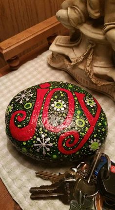 Painted Rock JOY
