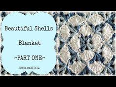 Beautiful Shells Blanket Part 1 - YouTube